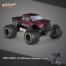 HSP 94050 1/5 Off-Road Monster Truck Remote RC Car 2.4G 2CH 4WDRTR 32CC Gasoline