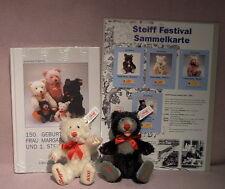 Steiff Festival Bären Little Blacky & Little Whitey, Festival 2000, lim. Aufl.