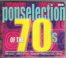 (GY790) Popselection of the 70s, 54 tracks various artists - 2000 Boxset CDs