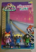 Las Chicas Superpoderosas Juego De Acción Original, 3 Figura Juguete Nuevo En Su Embalaje Original