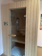 Sauna Infrarot-Wärmekabine 3 Quarzstrahler & Saunaofen