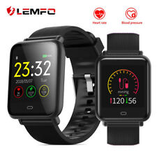 New LEMFO Smarwatch Handy Armband Herzfrequenz Blutdruck Pulsuhr Fitness Tracker