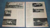"1951 24-Hours of Le Mans Vintage Race Highlights Article ""Jaguar Victorious at.."