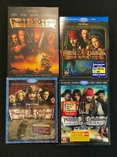 Pirates of the Caribbean First Four Movies Dvd Pack (12-Discs) w/Free Shipping