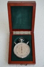USSR Soviet Stopwatch Chronometer Slava Original Wooden Box
