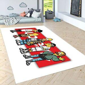 Simpsons SUPREME Carpet , Non Slip Floor Carpet,Teen's Carpet,