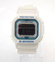 CASIO G-Shock GLS5600KL-7 Opal Face White Square Dial White Resin Digital Dial