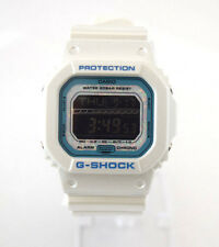 CASIO G-Shock GLS5600KL-7 Opal Face White Square Dial White Resin Digital Dial