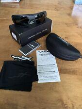 Wiley X Authentic Titan Sunglasses CCTTN01 in Matte Black Grey Lens Z87.1 Impact