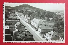 Foto AK HAIDA in Böhmen 1939 Strassenpartie aus de Ort   ( 30111