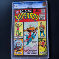 80 PAGE GIANT #10 (1965) 💥 CGC 9.4 💥 ONLY 4 HIGHER! Curt Swan Superboy Cover