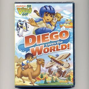 Diego Saves The World, animated kids' TV shows, new DVD over 2 hours, 6 episodes