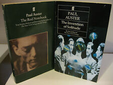PAUL AUSTER The Red Notebook - The Invention of Solitude Faber and Faber VG Lot