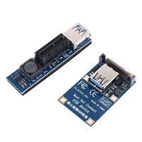 PCI-E Riser Mini PCIE to PCI-E X1 Extension Port SATA Adapter Expansion Card