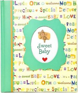 1 Count New Seasons Sweet Baby's First Five Years Yellow Keepsake Memory Book
