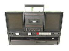 Panasonic SG-J550L Boombox Estéreo Vintage Radio reproductor de cassette de registros de vinilo