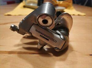 Shimano 600 Ultegra Schaltwerk Tricolor RD-6400 7 Fach Rear Derailleur Vintage