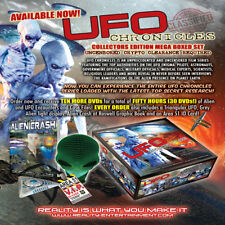 UFO CHRONICLES - MEGA MULTI DVD COLLECTORS EDITION GIFT SET - ALIENS AND UFOS!