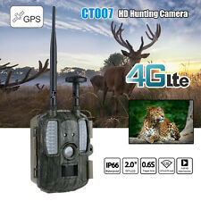 Hunting Camera 4G GPS 12MP 1080P Game Trail Cam Digital Surveillance HD MMS/GPRS