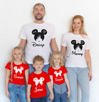 Disney 2019 OR 2020 Customized Matching shirts / Add Names to your Shirts!