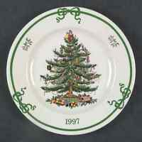 Spode CHRISTMAS TREE (GREEN TRIM) 1997 Collector Plate 7202335