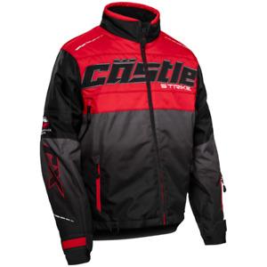 Castle X Strike G3 Snowmobile Jacket - Red/Black