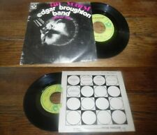 EDGAR BROUGHTON BAND - Up Yours! Rare French PS 7' Blues Rock 70' BIEM Harvest