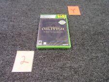 XBOX MICROSOFT 360 VIDEO GAME PLATINUM HITS 2007 THE ELDER SCROLLS IV 4 OBLIVION