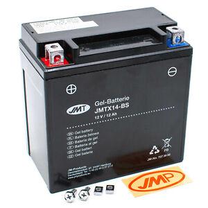 JMT Gel Batterie YTX14-BS 12V JMTX14-BS GEL