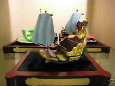 Disney Disneyland 50th Anniversary Peter Pan's Flight Attraction Vehicle - Mib