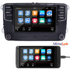 "6,5"" Autoradio VW MIB 2 RCD510,Bluetooth+Mirrorlink,USB,RVC,AUX,Golf,Caddy,Polo,"