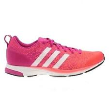 Womens ADIDAS ADIZERO PRIMEKNIT 2.0 Pink Running Trainers Q21955
