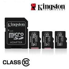 Kingston Micro SD Card Class 10 16GB 32GB 64GB 128GB 256GB Smartphones & Tablets