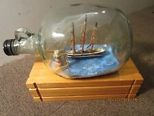 Maritime 3 Mast Clipper Ship Model In Bottle