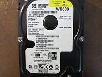 """Western Digital WD800BB-22FJA1 DCM:DSBHCTJCH 80gb 3.5"""" IDE/ATA Hard Drive"""