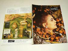 Beau Catalogue Montre Bijoux Pendule DIFOR Besançon 1971  Vintage