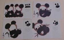 CHINA  PR  4 DIFF. MAXI CARDS PANDA