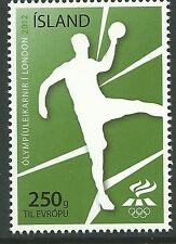 Iceland 2012 - Sports Summer Olympics Games London Handball - Sc 1271 MNH