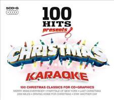 Karaoke - 100 Hits: Christmas Karaoke New Cd