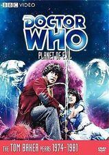 Doctor Who - Planet of Evil Brand New (Dvd, 2008) Original Version Bbc Tom Baker