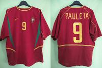 Maillot Portugal Nike Pauleta #9 Vintage Jersey Shirt Football shirt - L