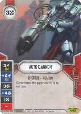 x1 Auto Cannon 62 Rare Star Wars Destiny Legacies M/NM