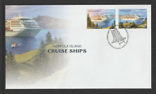 Norfolk Island 2018 : Cruise Ships - First Day Cover. Mint Condition