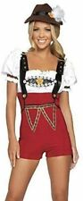 Ladies Octoberfest Oktoberfest German Beer Festival Wench Maid Costume Size 8