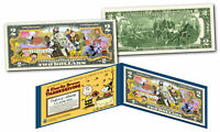 PEANUTS * A CHARLIE BROWN THANKSGIVING * Officially Licensed US Genuine $2 Bill