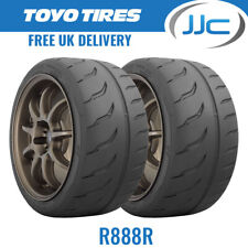 2 x 235/40/17 90W Toyo R888R Trackday/Race E Marked Tyres - 2354017