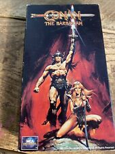 Conan The Barbarian VHS 1981