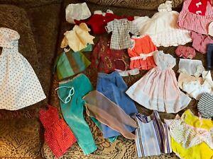 Vintage doll clothes lot vogue velvet's little sister glasses dresses pants hose