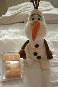 Disney Frozen Scentsy Olaf Buddy with New scent pack. Retired. Used.