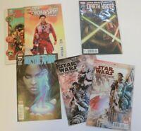 Lot of 6 Star Wars Poe Dameron Darth Vader Doctor Aphra Shattered Empire Comics